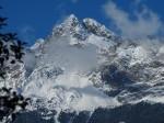 Inverno a Merano cima Giogo di Tessa - Tschigat m 3003